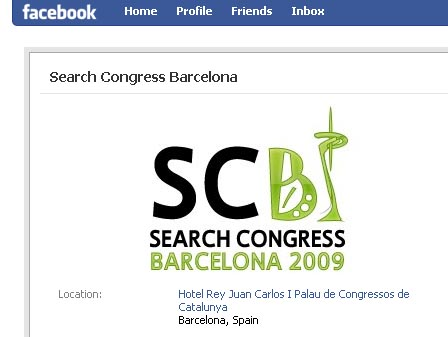 Search Congress en Facebook