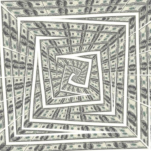 Money whirlpool, de Patrick Hoesly