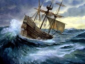 El Mayflower en camino de crear una nueva sociedad